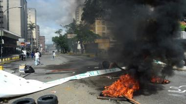 En video   Caracas: paralizada este jueves por llamado a huelga de la oposición