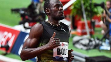 Con 9 segundos 95 centésimas, Bolt vence en los 100 metros de Mónaco