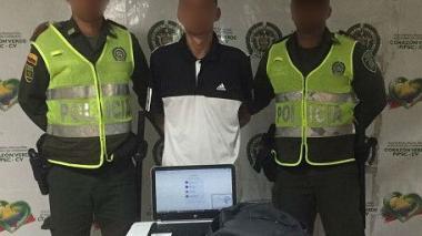 Policía captura presunto ladrón de hotel en el centro de Cartagena