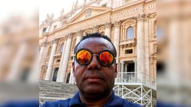 Le robaron al excampeón Fidel Bassa en el Vaticano