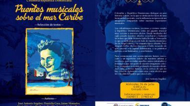 Lanzan el libro 'Puentes musicales sobre el mar Caribe'