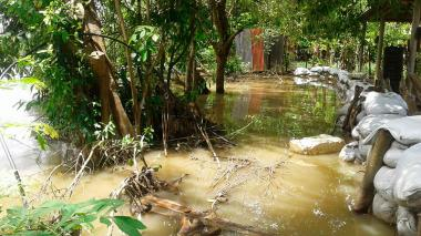 En las cuencas media y baja del Sinú se nota la reducción del torrente, pero nuevamente llovió en el Paramillo.