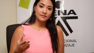 Jacqueline Rojas Solano, actual directora del Sena.