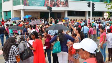 Docentes de La Guajira se tomaron las calles de Riohacha