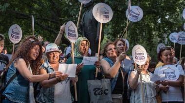 Mujeres de Ankara marchan para exigir sus derechos