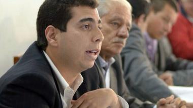 Camilo Rubiano, durante un evento gremial.