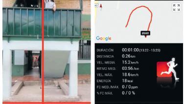 Aplicación utilizada por los estudiantes que funcionaba a través de fotos y secuencias. Esta aplicación combinaba el atletismo con los términos y fórmulas estudiadas en la materia.