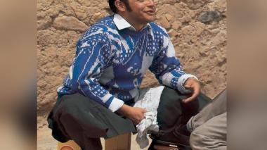 Jaime Garzón, crítico y humorista político.