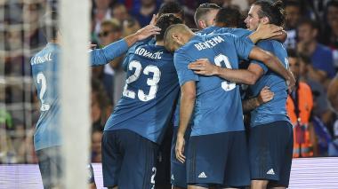 Real Madrid toma ventaja en la Supercopa de España: venció 3-1 a Barcelona