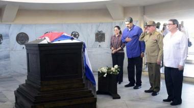 Fotografías de la visita de Maduro y su esposa a Cuba compartidas por el diario Ganma de Cuba.