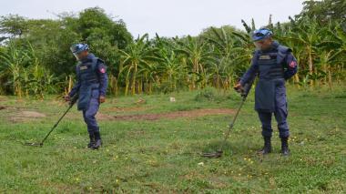 El Magdalena está libre de minas antipersonas