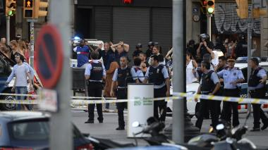 Detienen a dos personas por atentado terrorista en Barcelona
