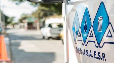 Triple A reporta que 17 barrios del norte están sin agua este domingo