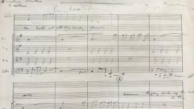 La partitura de 'Eleanor Rigby' de los Beatles será subastada