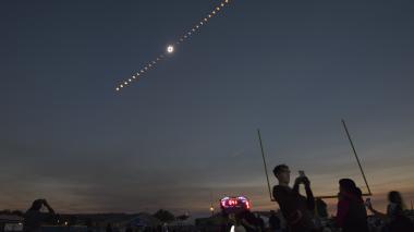 Eclipse solar: Estados Unidos lo gozó a plenitud