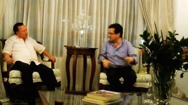 Embajador de Colombia en Venezuela visita La Guajira