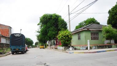 Barrio Santuario en Barranquilla