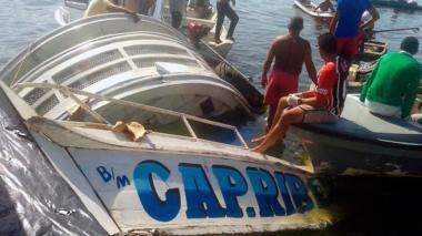 Sube a 40 el número de muertos en naufragio en Brasil