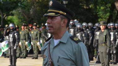 El coronel Gustavo Berdugo Garavito.