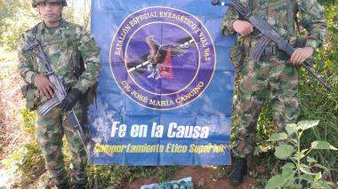 Ejército destruye 12 minas antipersonales del ELN en La Jagua de Ibirico, Cesar