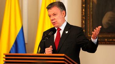 Santos confirmó que negociación para cese al fuego con el Eln sigue en pie