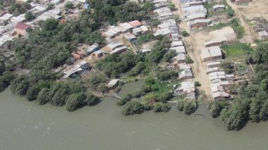 En la Ciénaga de Mallorquín hay 1.695 ocupaciones indebidas, del las cuales 20 pueden ser derribadas por la Alcaldía de Barranquilla.