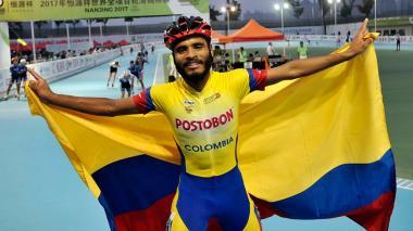 Álex Cujavante, campeón mundial en China