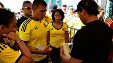 Reventa: media hora antes, entradas para el partido alcanzan el millón de pesos
