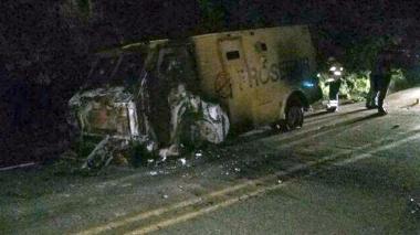 Dinero asaltado en camión blindado iba para bóveda de seguridad en Aguachica