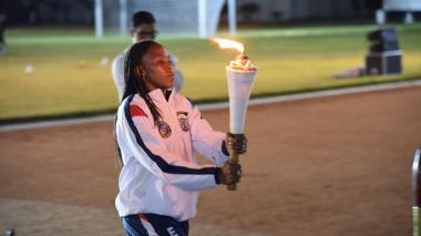 Se inicia la fiesta deportiva de los futuros suboficiales de Colombia