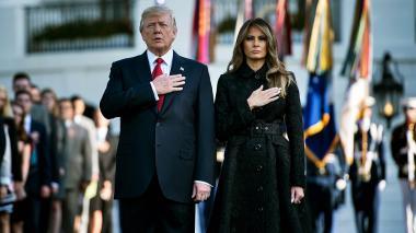 """""""EEUU no se dejará intimidar por terroristas"""": Trump sobre el 11-S"""