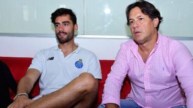 Joao Lameirao y Juan Carlos Consuegra.