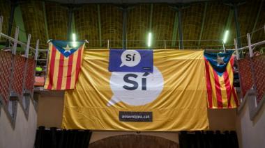 Cataluña presenta campaña a favor del referéndum