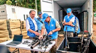 ONU finaliza extracción de caletas de las Farc