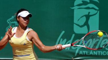 María Fernanda Herazo, campeona de dobles en Túnez