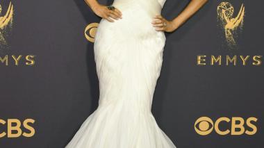 El color blanco fue el ganador sobre la alfombra roja de los Emmy