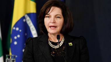 Raquel Dodge, procuradora general de Brasil.