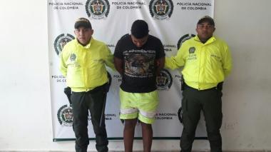Capturan a presunto autor de homicidio a puñaladas en Repelón