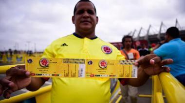 Hoy se reanuda venta de 4.000 boletas vía internet para juego de Colombia