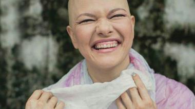 Eliana María Mejía Franco, sobreviviente de cáncer de seno.