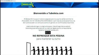 En menos de una hora se acabaron las primeras 4.000 boletas para Colombia-Paraguay
