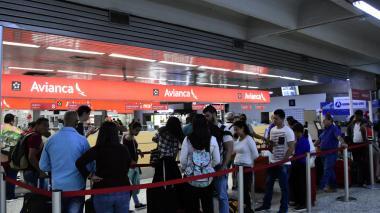 Sigue la huelga: 12 vuelos para hoy son cancelados en Barranquilla