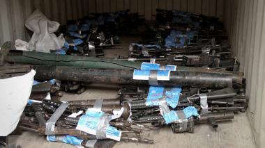 La primera misión de la ONU terminó: las armas de las Farc fueron inhabilitadas
