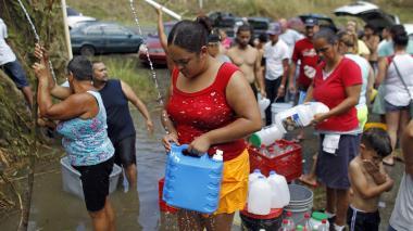 Empeoran las condiciones en Puerto Rico por el huracán María