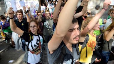 Madrid despliega en Cataluña su fuerza a 7 días del referéndum