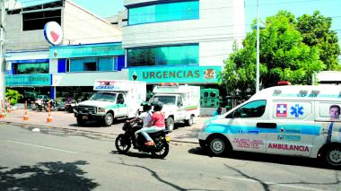 Fachada de la clínica Laura Daniela, en Valledupar.