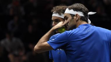 Rafael Nadal, Roger Federer y Andy Murray, se mantienen en el podio de la ATP