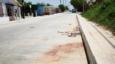 De un machetazo mataron a 'Piolín' en el barrio Sourdis