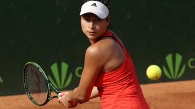 En sencillos, 'Mafe' Herazo debuta con triunfo en el ITF 15.000 de Hammamet