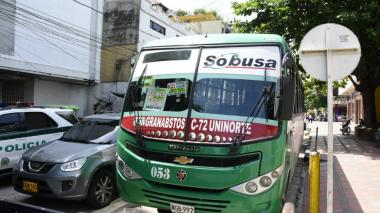 Policía captura a atracador de ruta de Sobusa Granabastos-Calle 72